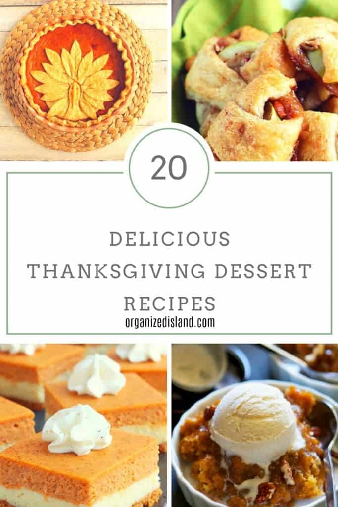 Fun and festive Thanksgiving desserts that are beautifully creative!