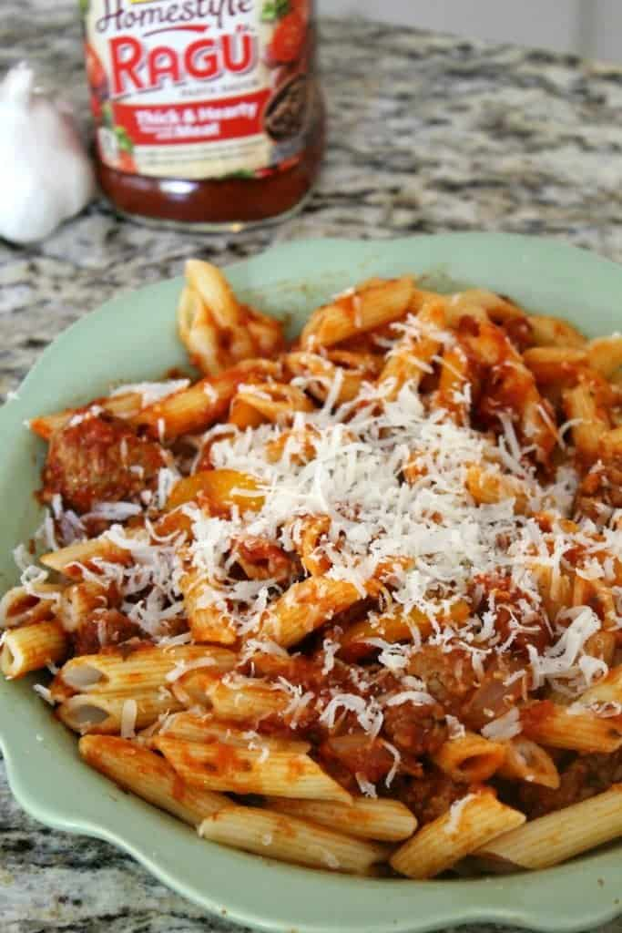 Need a nice meal idea? This Italian sausage pasta recipe is delicious and flavorful. Made with ground Italians sausage and fresh peppers.