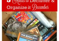 Organizing Ideas for Winter. Great tips to declutter and organize your home.