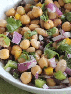 Updated Three Bean Salad Recipe