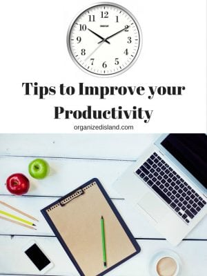 Ever feel like you are not getting stuff done? As a productivity manager, I have some tips to help you stay focused and avoid distractions.