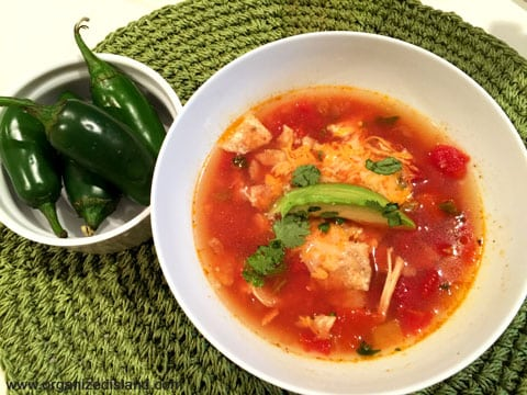 Easy Tortilla Soup - An easy dinner or lunch idea.
