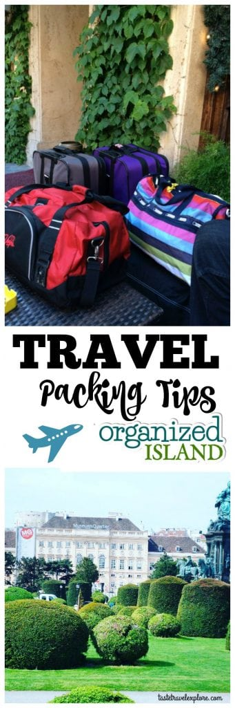 Travel Packing Tips for a weekend or longer. Check out our recommendations to travel lighter!