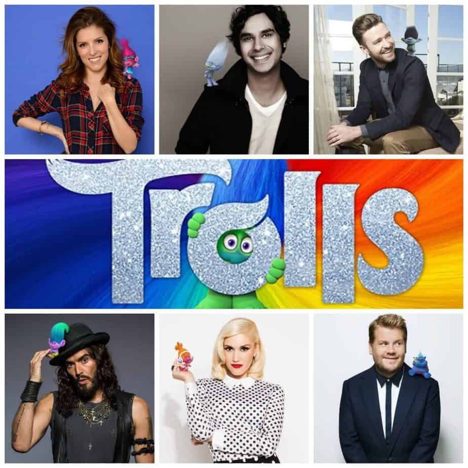 Check out the talented cast of the new Troll's Movie