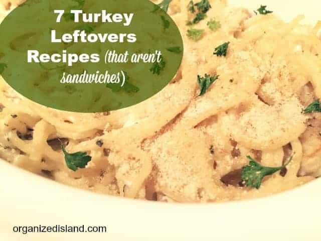 Tired of turkey sandwiches? These turkey leftovers recipes will help you save money!