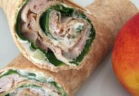 These Crunchy Turkey Spinach Wraps make a wonderful lunch or snack idea! So tasty with the crunch and very easy to make. Great for an appetizer or tailgate dish too!