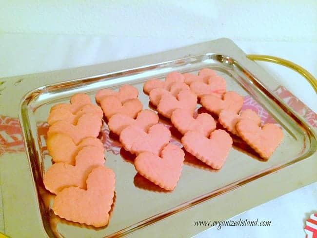 Recipe for Valentines Heart Cookies