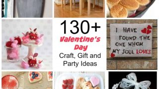 Over 130 craft and gift ideas to celebrate Valentine's Day with friends and family!