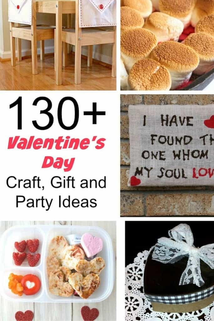 Over 130 Craft, Gift and Party ideas to celebrate Valentine's Day in style!