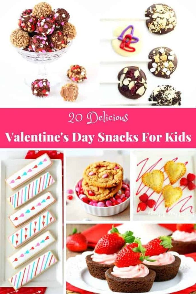 Easy Valentine's Day Snacks for kids. Fun and easy ways to celebrate with your family!