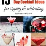 Valentines Day Cocktail Recipes for Sipping