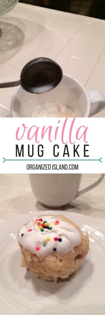 If you are wondering how do I make a mug cake, start with this tasty vanilla mug cake recipe. Ready in minutes!