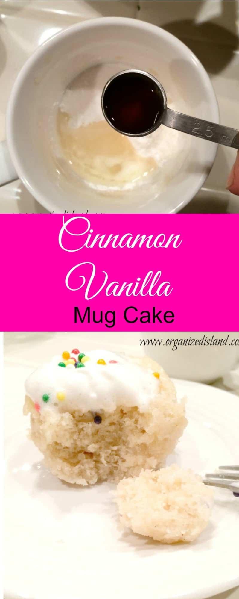 Vanilla Mug Cake Recipe  Tablespoons Flour