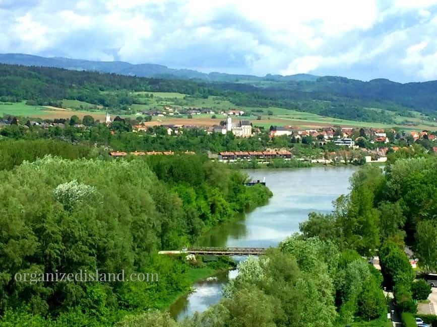 Stunning views from Melk Austria.
