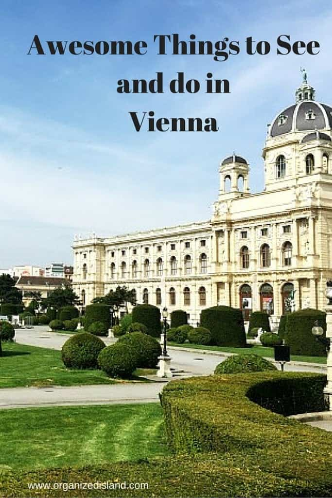 Family friendly recommendations on things to see and do when visiting Vienna for the first time!