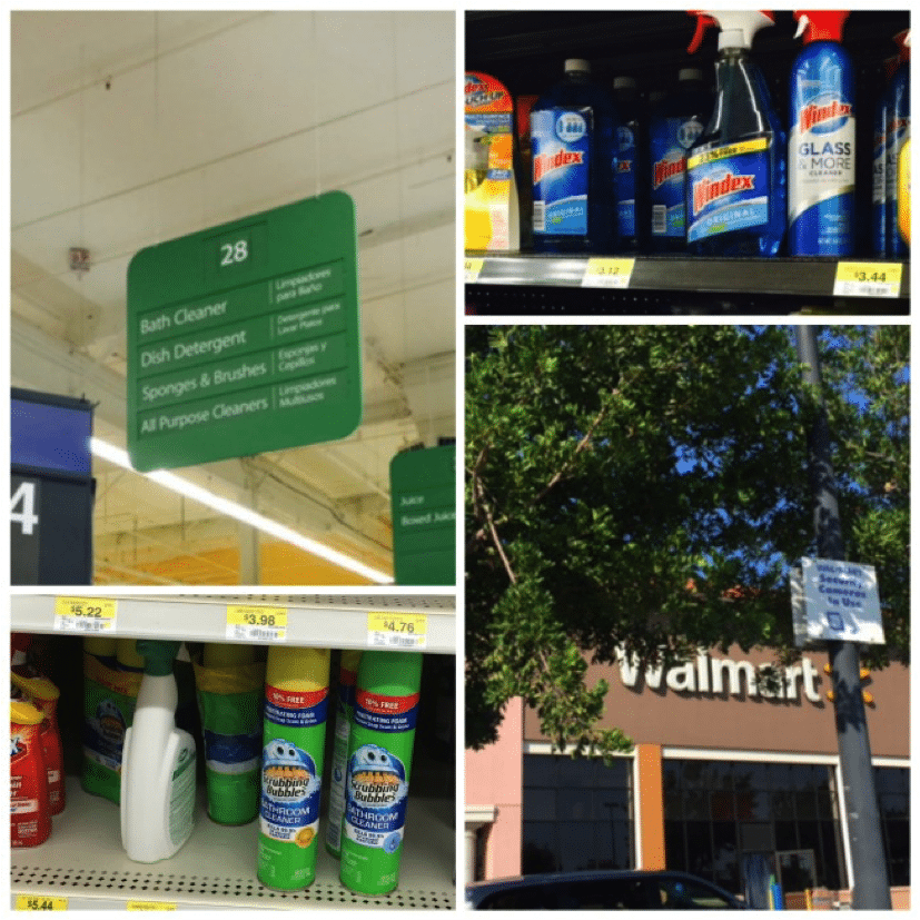 Scrubbing Bubbles can be found at Walmart #HappyThanksgathering #Ad