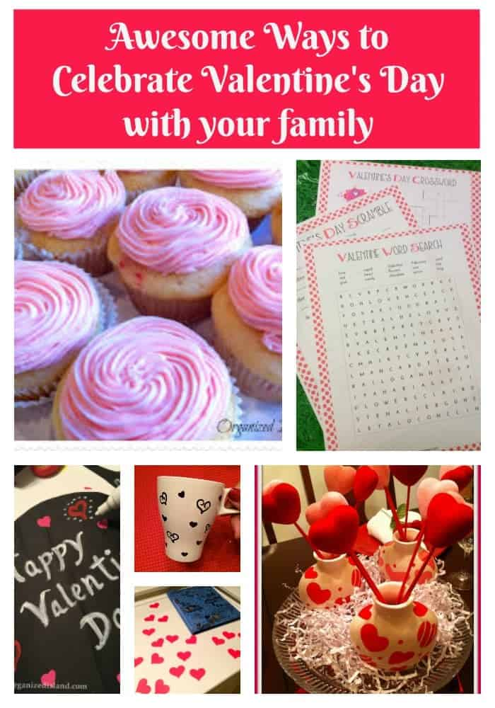 Looking for some fun ways to simply celebrate Valentine's Day at home? Here are some fun ideas.