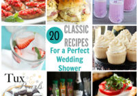 Are you throwing a bridal shower? Check out these great recipe ideas here! All simple to make and will make a lasting impression on guests!