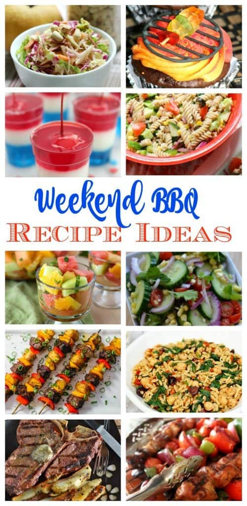 Weekend Barbecue Recipe Ideas