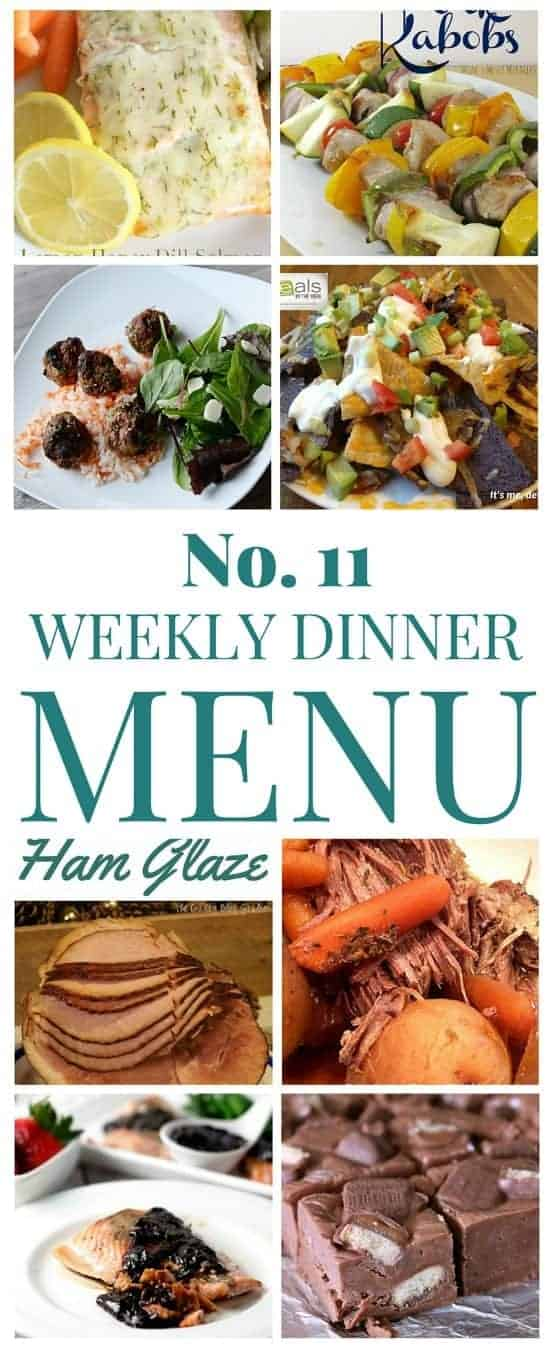 Weekly Menu Plans can save you time, money and stress! We saved so much money by meal planning.