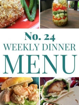 Seven great meal ideas for summer. Part of the weekly dinner plan series.