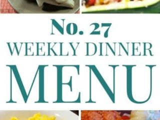 This week's meal plan is all about quick meal ideas. Whether on your stove or in your slow cooker, we have some time-savers here.