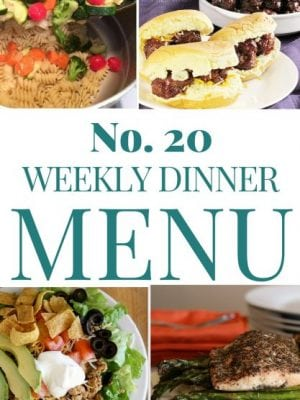 Wondering what to make for dinner this week? check out this week's dinner plan for tasty recipes.
