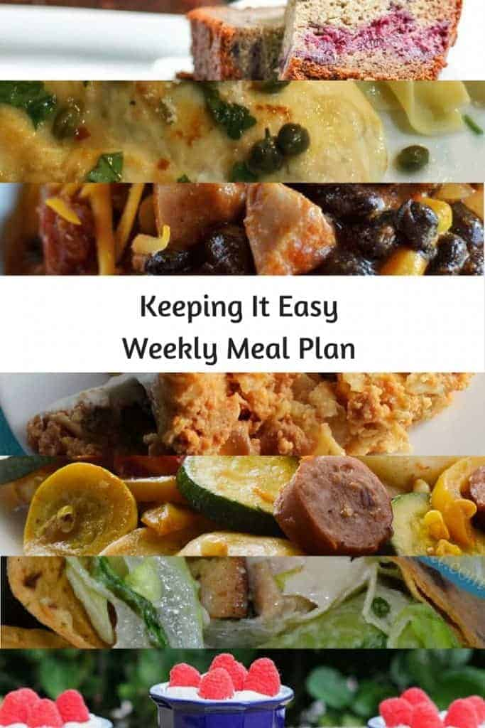 menu ideas for dinner