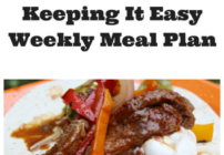 Weekly meal ideas for family