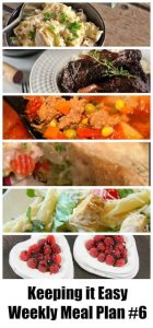 Meal Planning menu for an entire week. Tried and tested recipes from your favorite food bloggers.