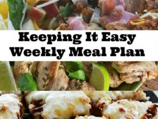 The latest weekly meal plan with ideas for your recipe box.