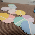 Ombre Paint Chip Spring Art