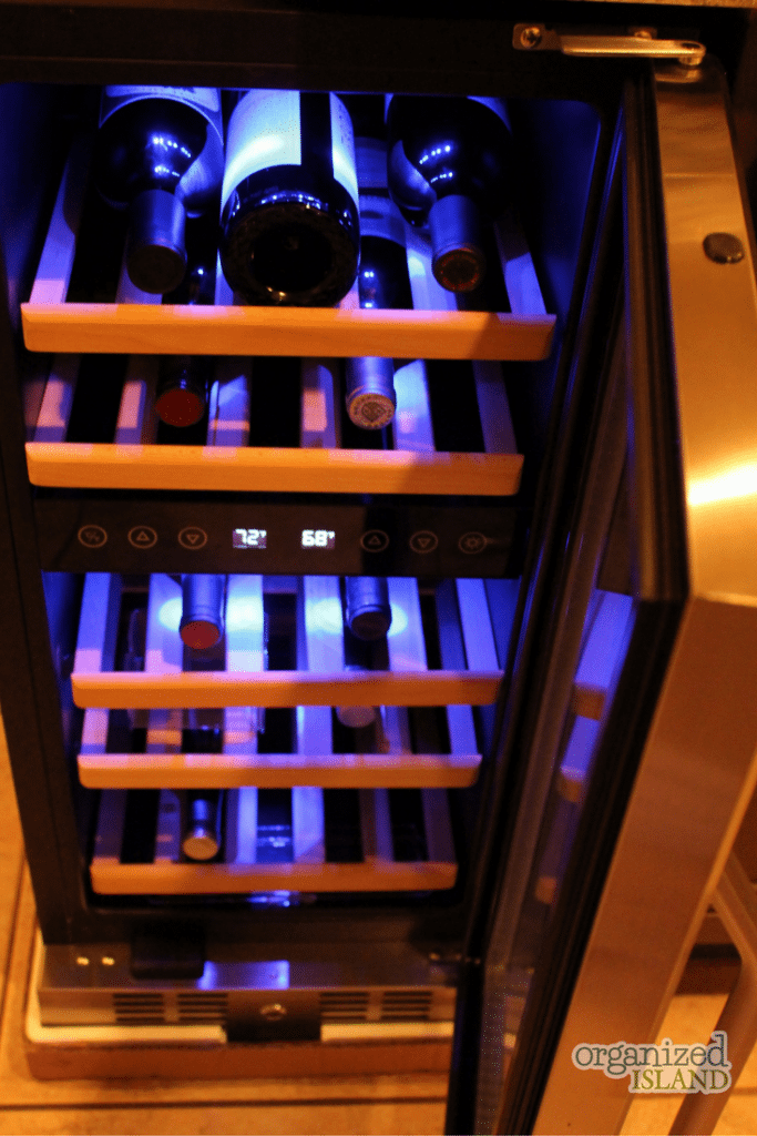 This NewAir wine cooler is the perfect solution to keep my wine protected at the right temperature.
