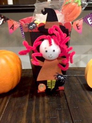 Halloween Party Favor Idea Popcorn Box