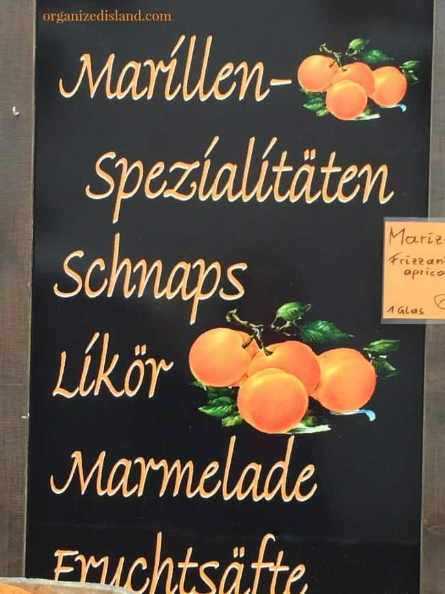 Apricots are everywhere in Austria. Served in many dishes, drinks and spreads, if you love apricots, you must see their amazing array of food items.