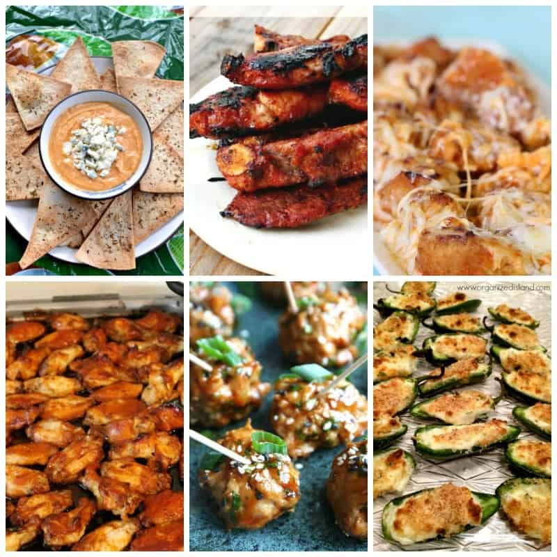 More tasty appetizers to make for Super Bowl! Great for any day really!