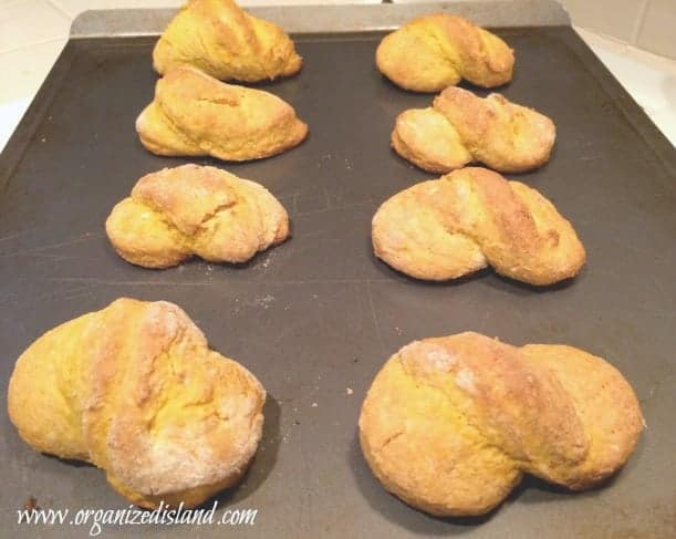 simple pumpkin twists