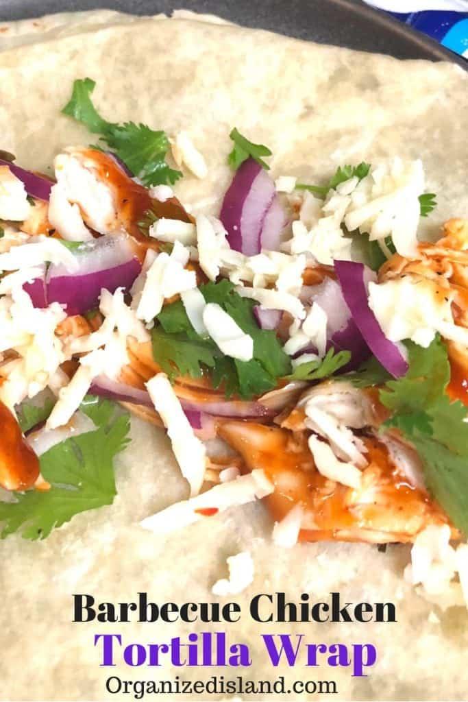 BBQ chicken Tortilla Wrap