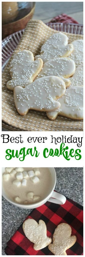 This really is the best-every sugar cookie recipe to use with cookie cutters!