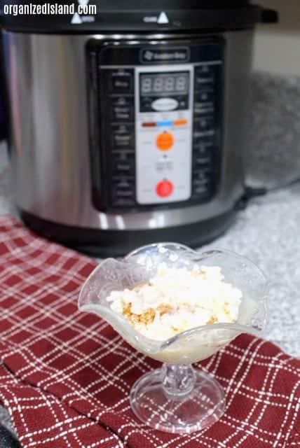 Rice Pudding in pressure cooker recipe