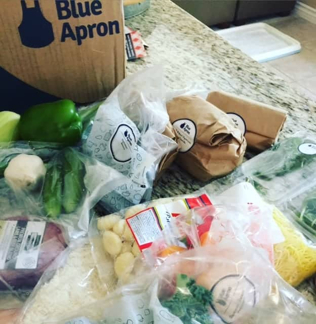 How Blue Apron meal prep service works