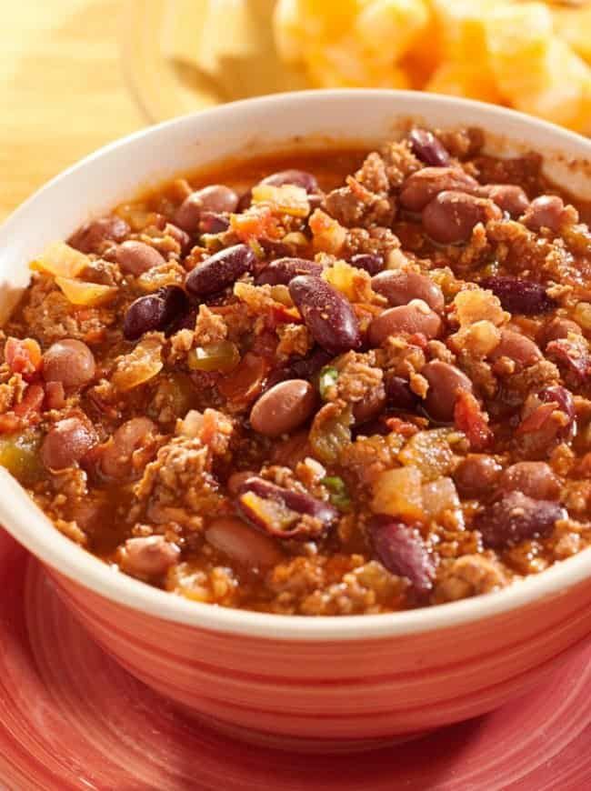 Chili recipe with beans and beef- one of the Best chili recipes