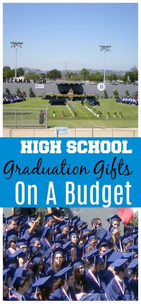 graduation gifts on a budget
