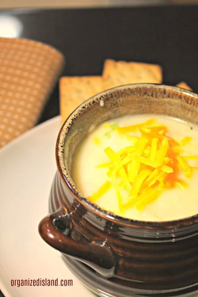 Potato Cheese Soup Recipe Easy