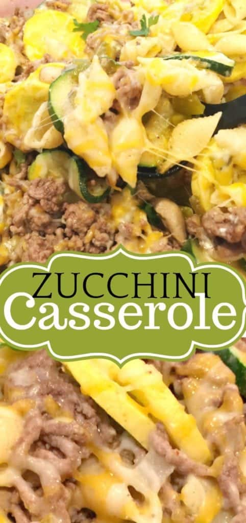 Zucchini and Ground Beef Casserole