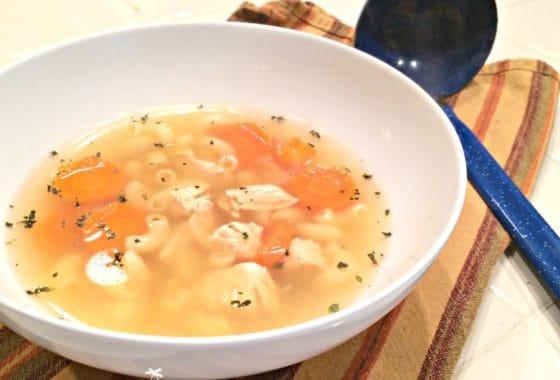 Chicken Soup with Rotisserie Chicken