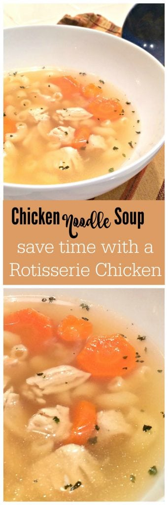 Chicken Soup with Rotisserie Chicken
