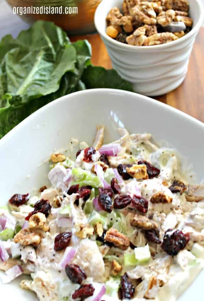 Lightened-up-Chicken-salad-in-bowl