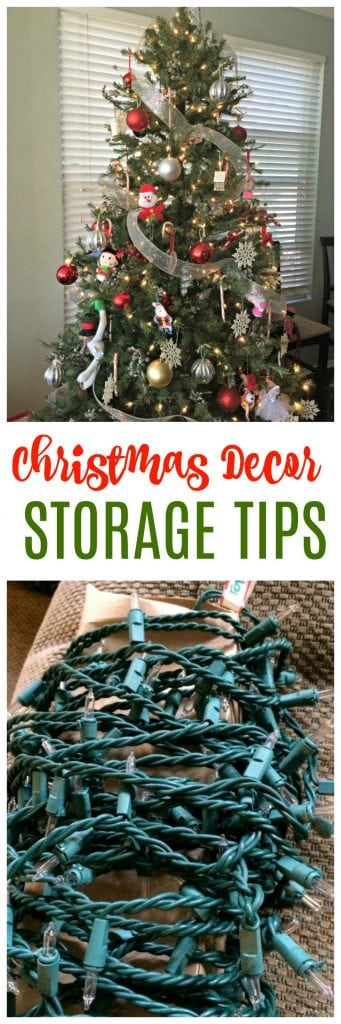 Christmas decorations storage tips and tricks.
