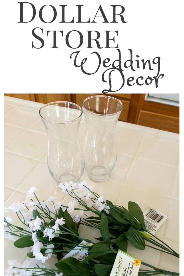 Dollar Store Wedding Decorations -